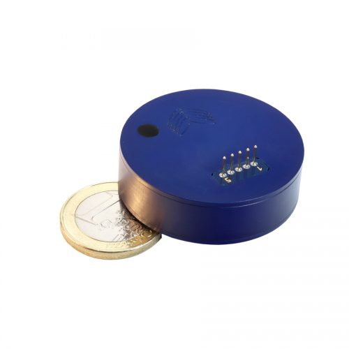 Fiber optic gyroscope VG1703S with euro coin