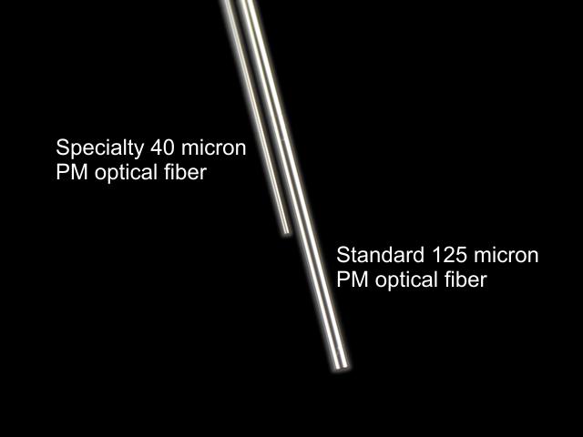 Specialty vs normal optical fiber